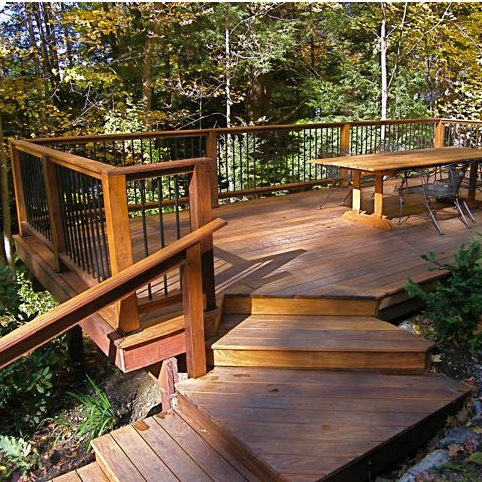 Expert tips for building decks tips design ideas for How far can granite span without support