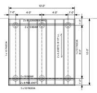 deck cantilever calculator