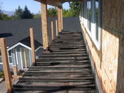 Waterproof deck and Deck Devil