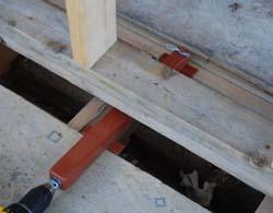 Pushing plywood