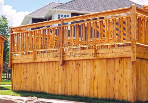 Deck Railing Design Ideas picture of deck with railing 1000 Images About Deck Railing On Pinterest Deck Railings Wood Deck Railing And Decks