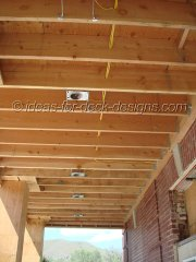 Installing lighting boxes into framing
