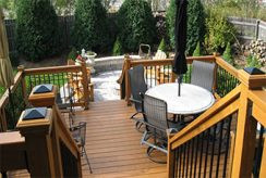 Deck railings quick checklist for code compliance.