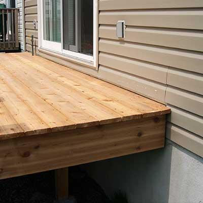 Deck board gaps