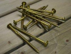 Very rugged lag screws