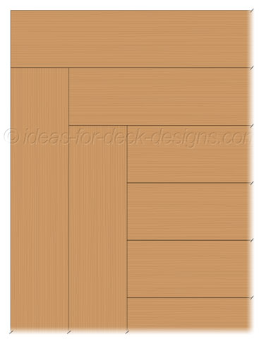Deck surface with Butt Joint design