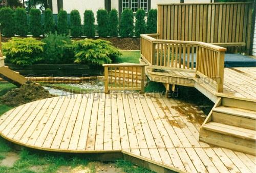 Lower deck area