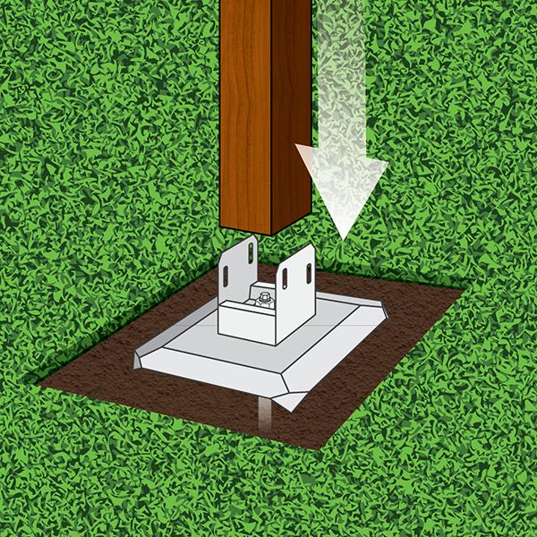 Installing Pergola Footings - Dig or Not Dig? See All Options