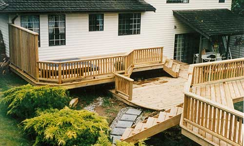 Building Above Ground Pool Decks, How To Design A Deck Around An Above Ground Pool
