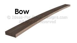 Bowed board