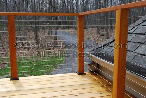 Cable Railings Build Deck Railings With Stainless Steel
