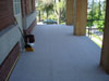 Cement board over plywood deck