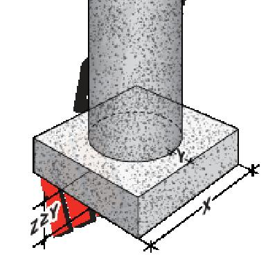 concrete footing