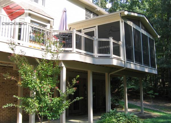 Second Storey Covered Deck