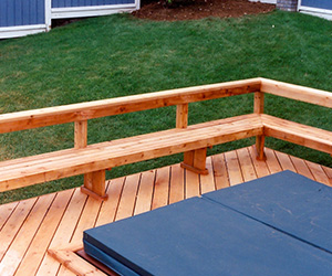 Built In Deck Benches That Look Great