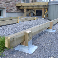 Titan Deck Foot - Ground Anchored Deck Footings In A ...