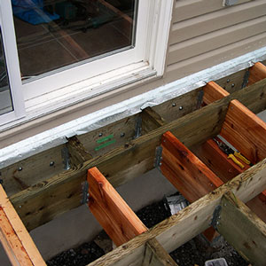 Changing direction of joists