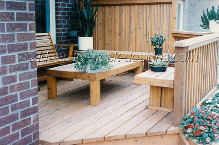 Deck Patio Furniture   The Final Touch For Your Deck Or Patio