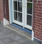 Add expansion joint to tiles