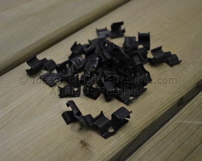 Clips for grooved boards