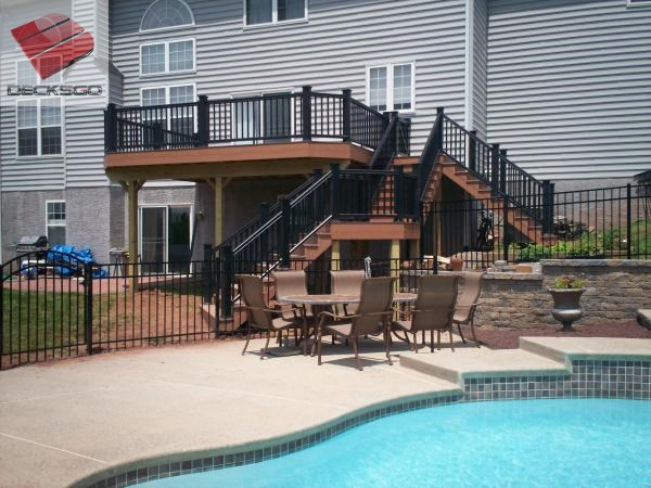 Elevated Deck And Pool