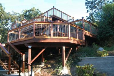 Vist to the clouds- 5 terraced deck