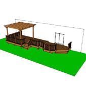 High elevation deck photos for design ideas for High elevation deck plans