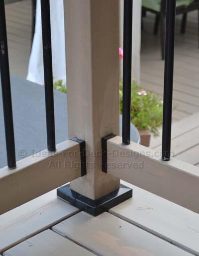 Polycarbonate hidden fastener Shadow Rail Connector
