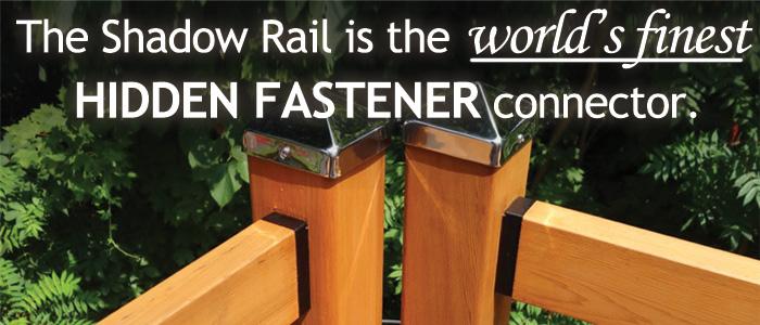 The Finest Hidden Fastener Rail Connector