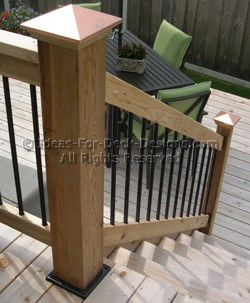 Guardrails For Stairs On A Deck