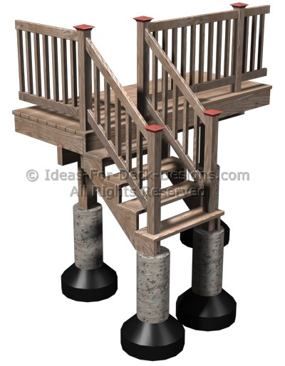 Deck Stair Footings Requirements