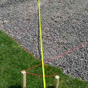 Triangulate for the next hole