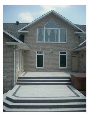 Flamed Granite Deck