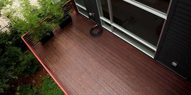 Bamboo decking pros and cons for outdoor decks for Cedar decks pros and cons
