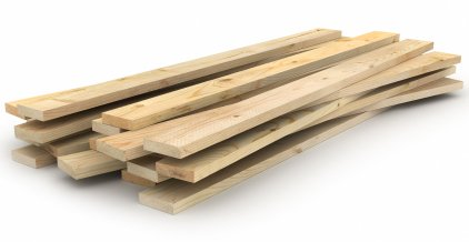 Lumber used for decking
