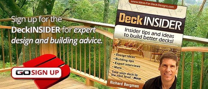 Sign Up to DeckINSIDER