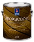 A clear sealer for wood deck surfaces
