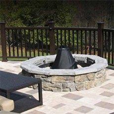 stone deck