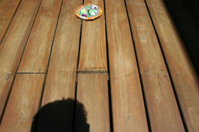 Perspective View of Deck Boards